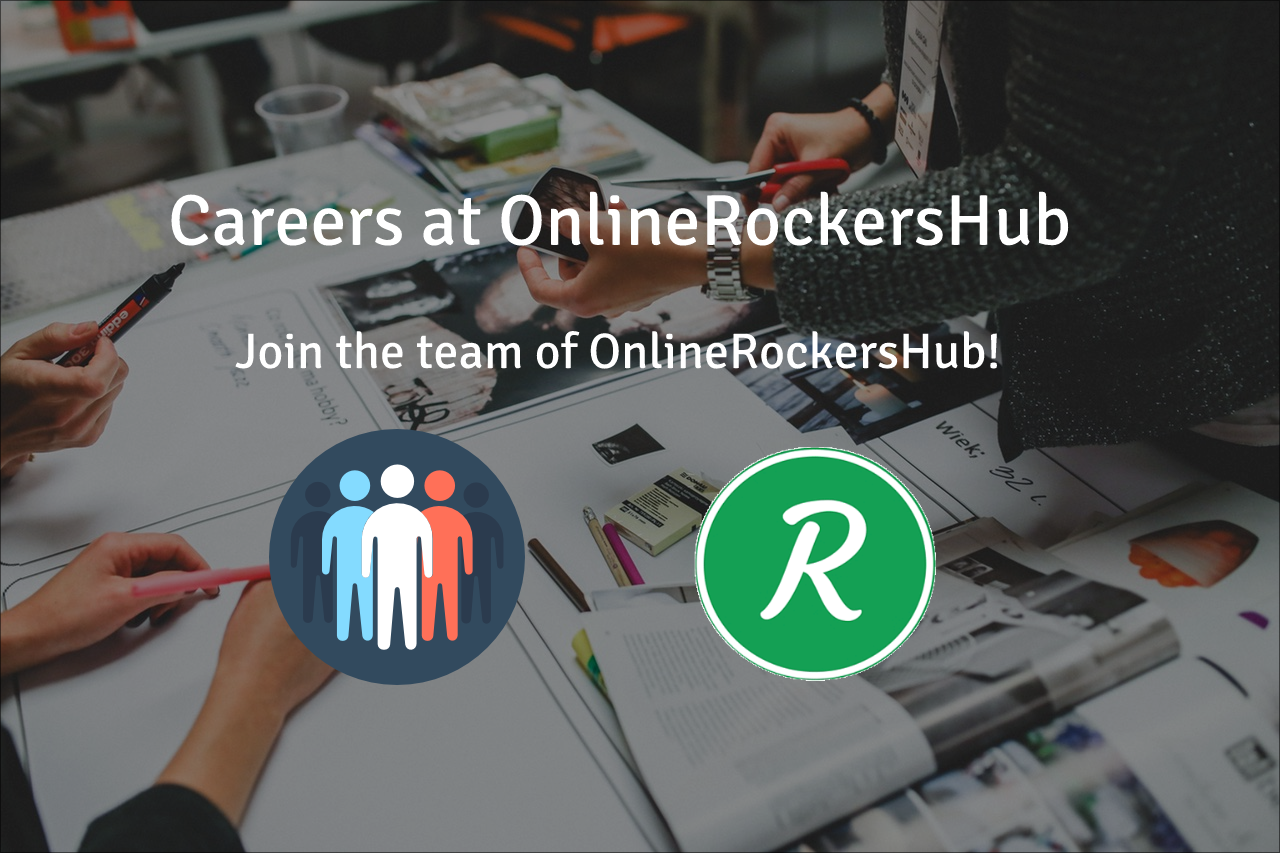 Careers at OnlineRockersHub – Join the team of ORH