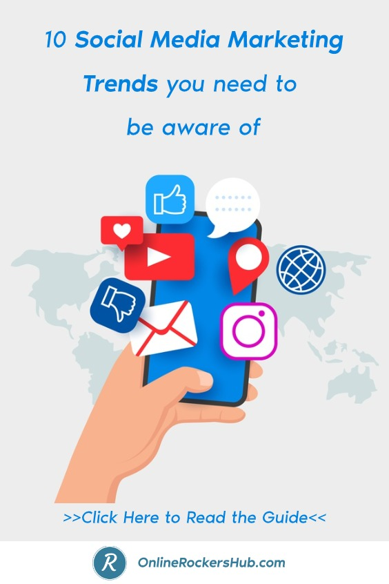 10 Social Media Marketing Trends you need to be aware of - Pinterest Image