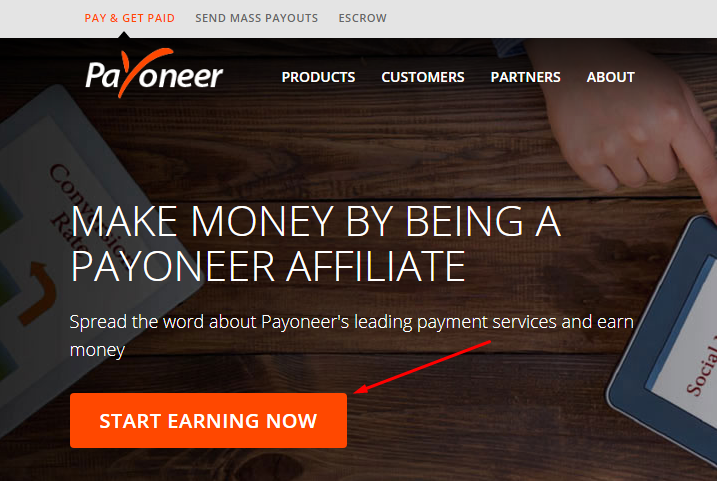 Start Earning Now at Payoneer Affiliate Program
