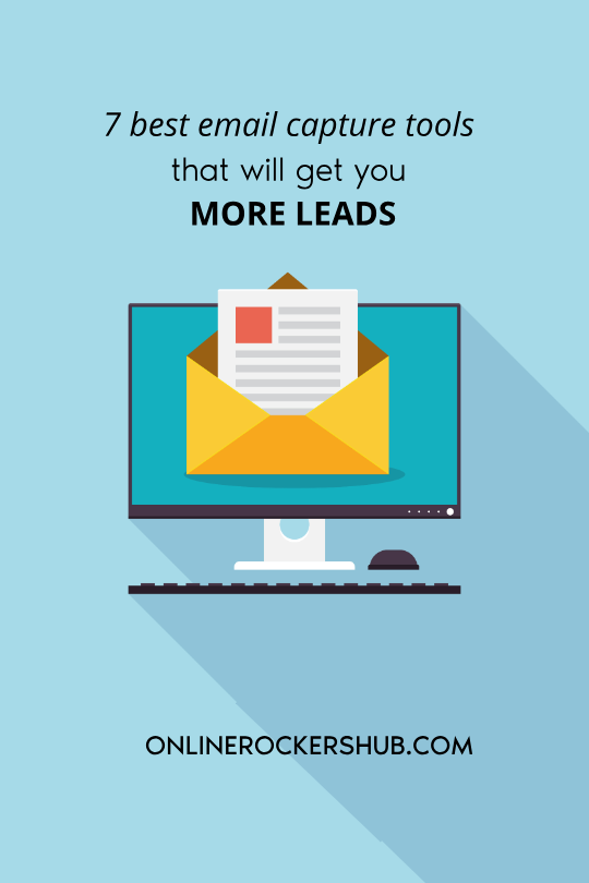 7 best email capture tools that will get you more leads - Featured Image
