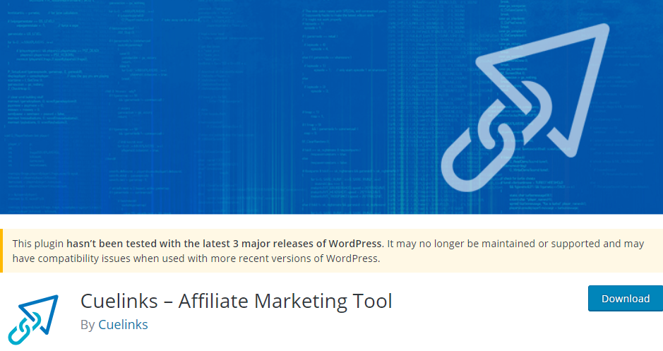 Cuelinks Affiliate Marketing Tool WordPress Plugin