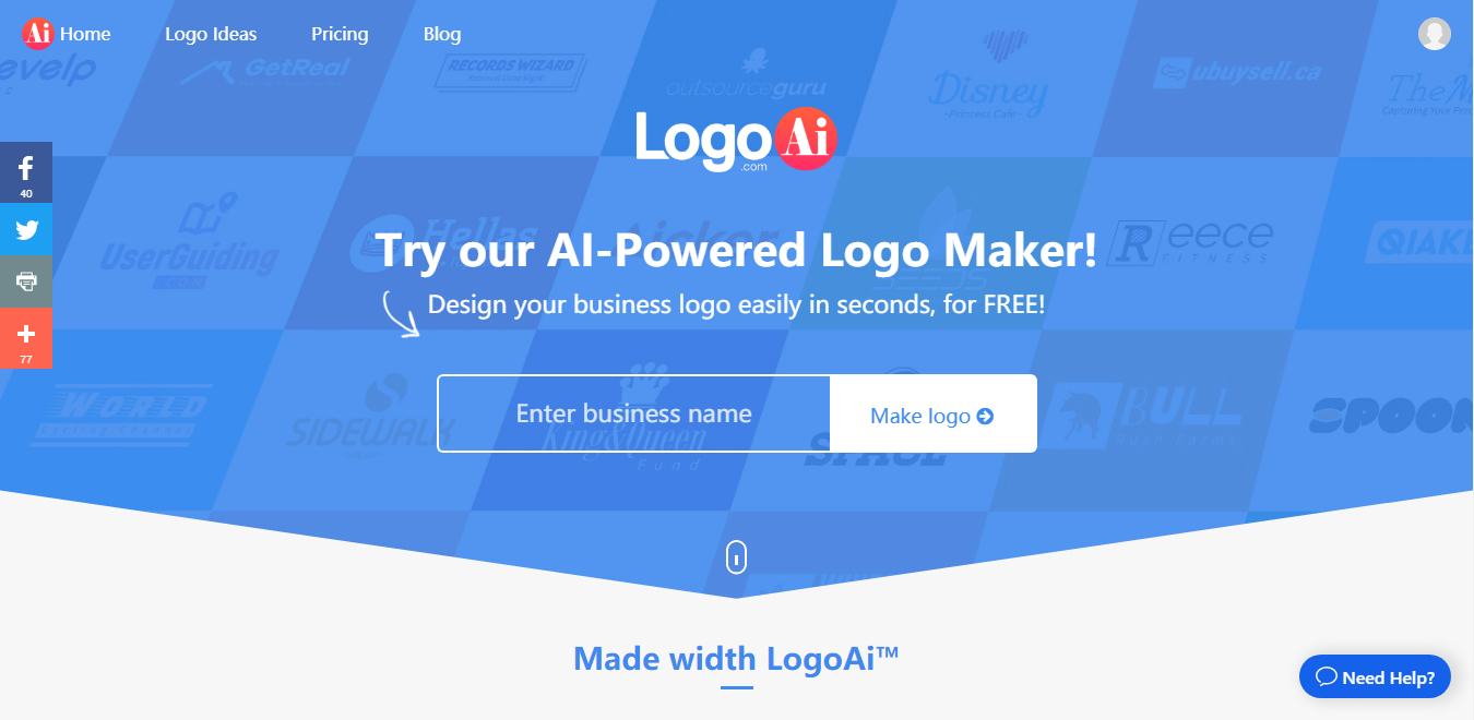 LogoAi Review: The new AI powered Logo Maker to try out 1