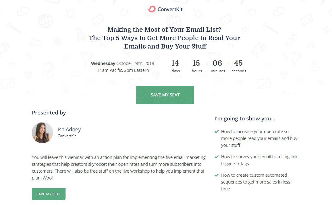 Making the most of your Email list The Top 5 ways to Get More People to Read Your Emails and Buy Your Stuff