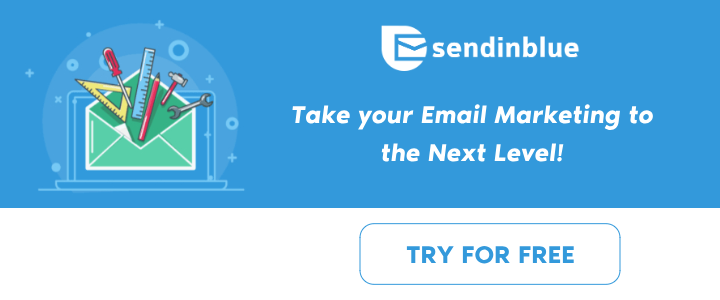 SendInBlue Banner - Take Your Email Marketing to the Next Level