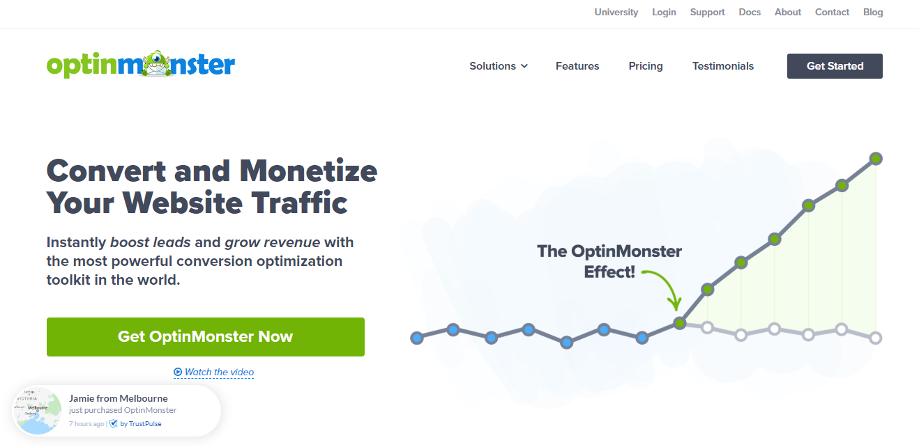 OptinMonster - The Best Email Marketing Plugin