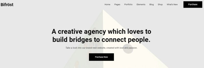 bifrost - Best WordPress Portfolio Theme