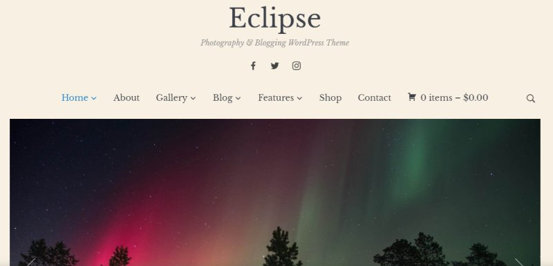 eclipse - best wordpress portfolio theme